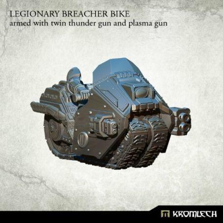 LEGIONARY BREACHER BIKE WITH THUNDER GUN AND PLASMA GUN