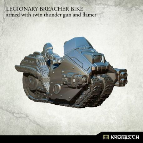 LEGIONARY BREACHER BIKE WITH THUNDER GUN AND MAGMA RIFLE