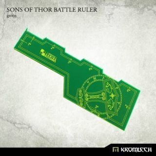 SONS OF THOR BATTLE RULER GREEN