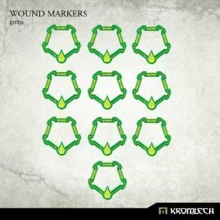 WOUND MARKERS GREEN