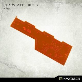 CHAOS BATTLE RULER ORANGE