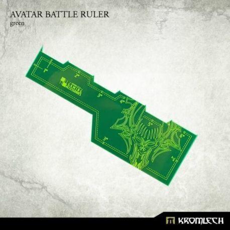 AVATAR BATTLE RULER GREEN