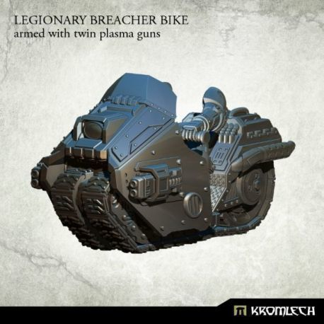 LEGIONARY BREACHER BIKE WITH TWIN PLASMA GUN