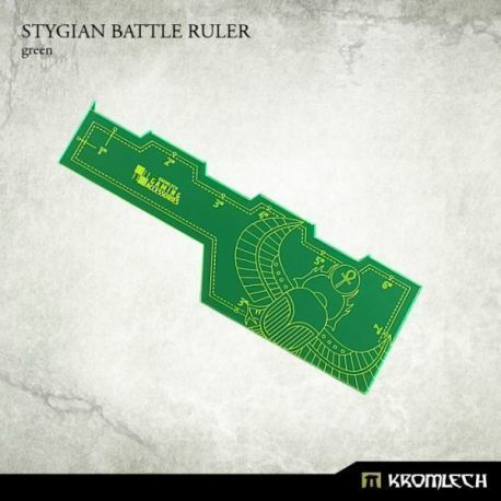 STYGIAN BATTLE RULER GREEN
