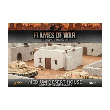 Medium Desert House