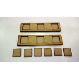 2 Movement Tray 120 x 30 mm, bases 20x20 mm