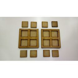 2 Movement Tray 60x60 mm, bases 20x20mm
