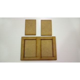 Movement Tray 120x80mm, bases 40x60mm