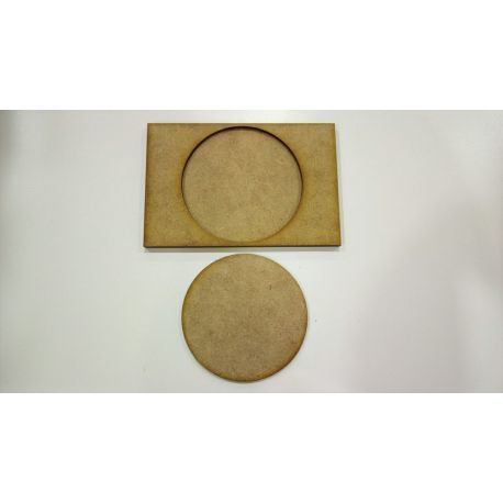 Movement Tray 120x80mm, base 75mm