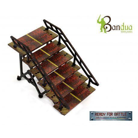 Prepainted Industrial Ladders