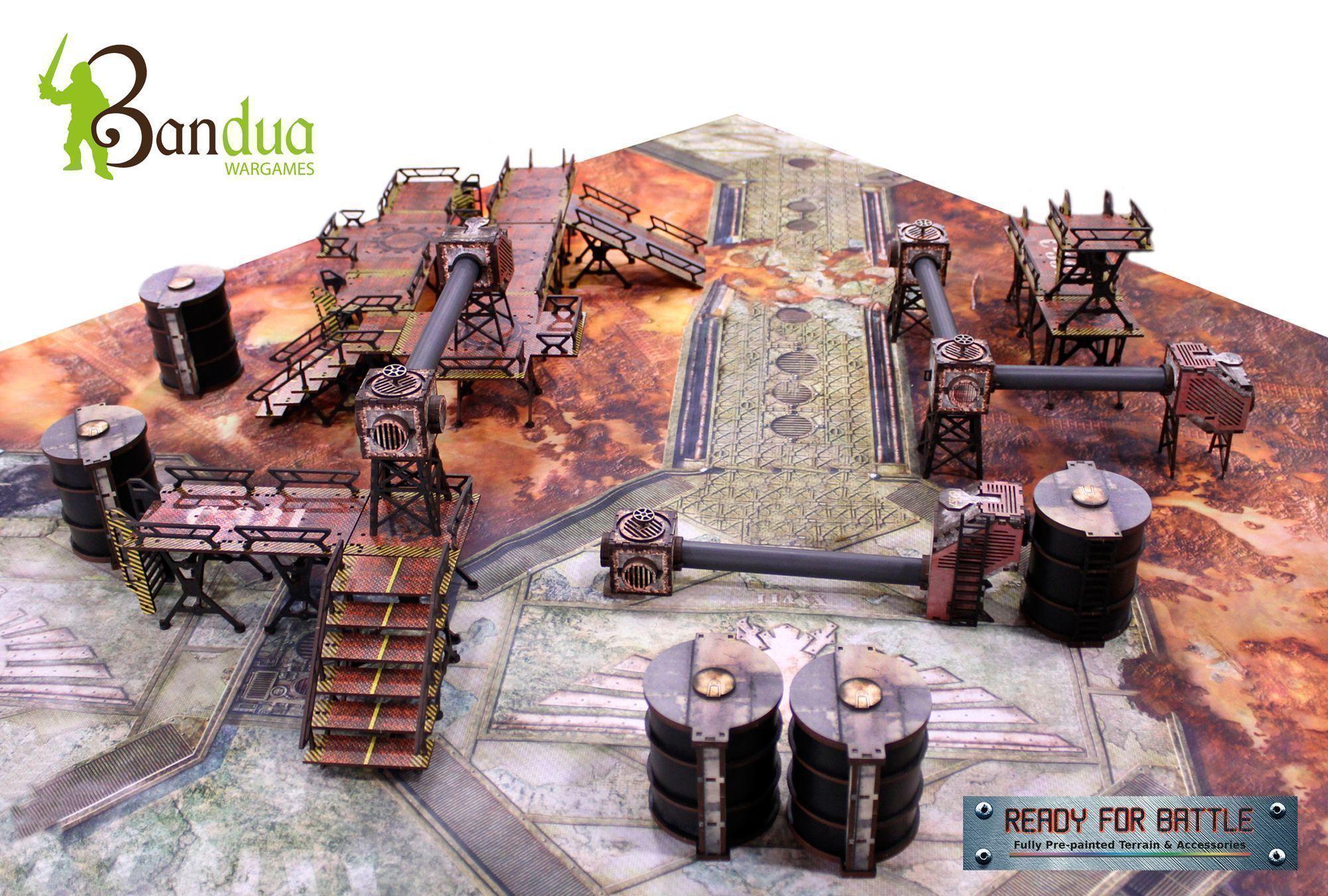 industry of murder table set - bandua wargames tienda de miniaturas