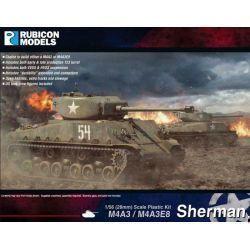 Rubicon Plastic - Sherman M4A3/M4A3E8