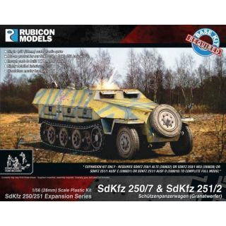Rubicon Plastic - SdKfz Expansion - 250/7 & 251/2