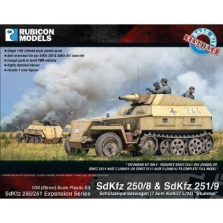 Rubicon Plastic - SdKfz Expansion - 250/8 & 251/9