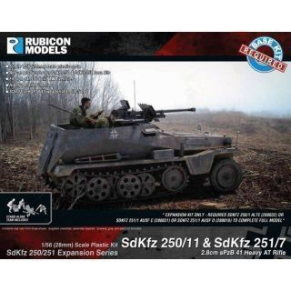 Rubicon Plastic - SdKfz Expansion - 250/11 & 251/7