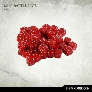 Mini Battle Dice Red