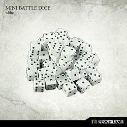 Mini Battle Dice White
