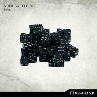 Mini Battle Dice Black