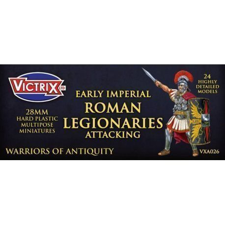 Early Imperial Roman Legionaries Attacking