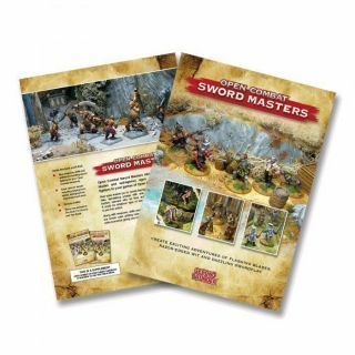 Open Combat: Sword Masters supplement