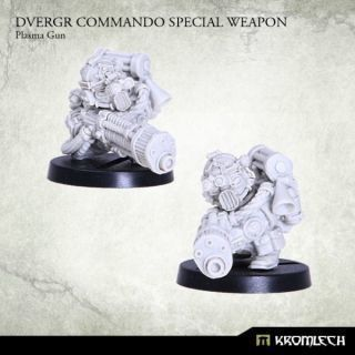 DVERGR COMMANDO SPECIAL WEAPON: PLASMA GUN