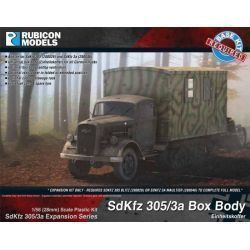 SdKfz 305/3a Expansion Set - Box Body (Einheitskoffer)