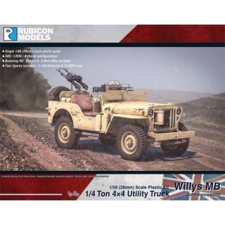 Willys MB 1/4 ton 4x4 Truck - Commonwealth
