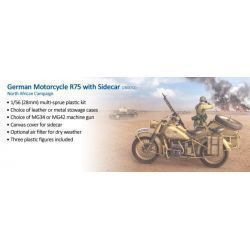 German Motorcycle R75 with Sidecar - DAK