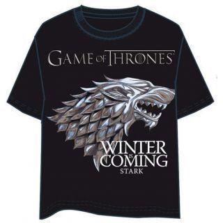 Camiseta Logo Star Games Of Thrones Talla XL
