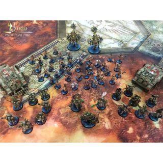 Ejército pintado Death Guard