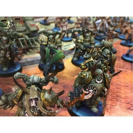 Death Guard Army Painted