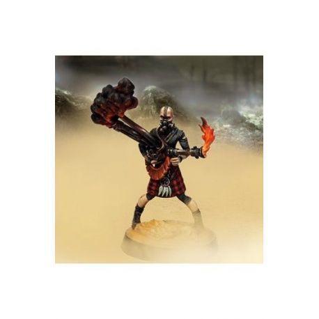 Black Blood Ember with Flamethrower