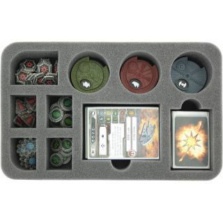 foam tray for Star Wars X-WING dials, token and accessories