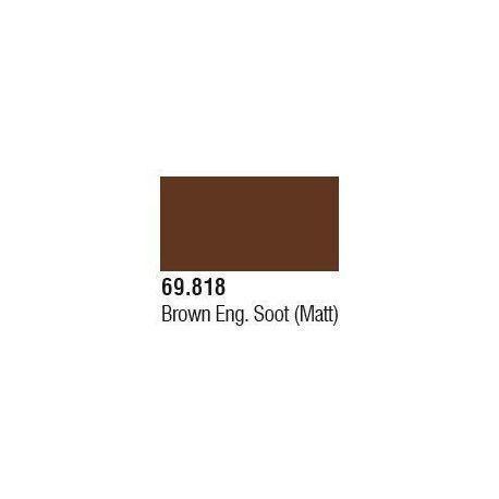 MECHA WEATHERING 818 17ML BROWN SOOT
