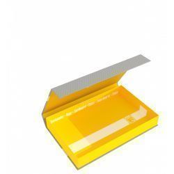 Feldherr Magnetic Box half-size 40 mm yellow empty