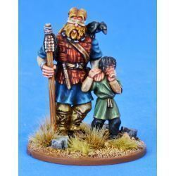SAGA Pagan Priest Four - The Blind Seer & His Boy