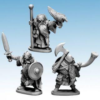 Dwarf King, Wizard & Musician