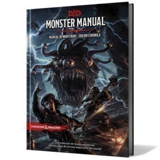 Monster Manual Manual de Monstruos ed.española