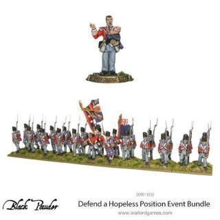 DEFEND A HOPELESS POSITION BRITISH LINE INFANTRY LIMITED BUNDLE