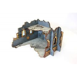 RUINED FORTRESS scenery for 32mm