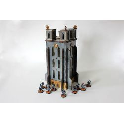 THE BELL OF SOULS TOWER scenery for 32mm