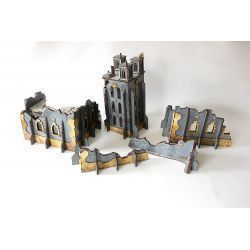 INDOMTUS ALDAN DISTRICT scenery for 32mm