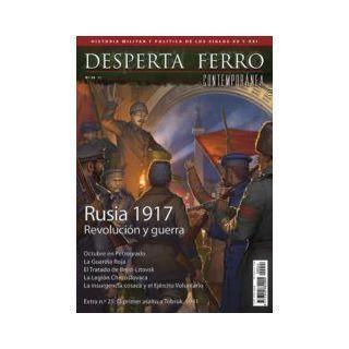 Desperta Ferro Cont. Nº24 Rusia 1917. Revolución y guerra