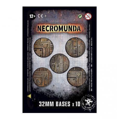 NECROMUNDA 32MM BASES (X10)