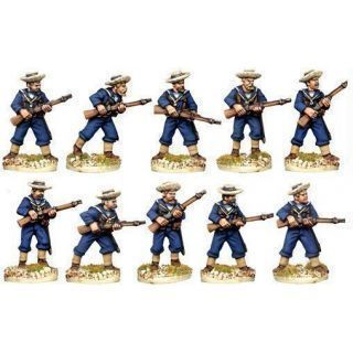 British Sailors in Sennet Hats