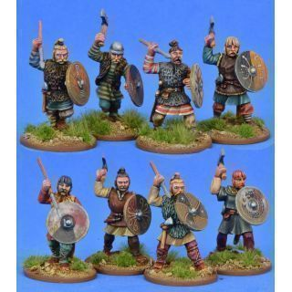 Salian/Merovingian Frank Warriors