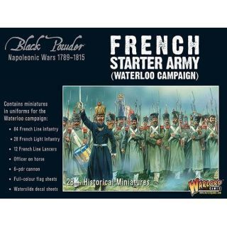 Napoleonic French Starter Army (Waterloo)