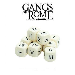 Roman Numeral Dice (10)