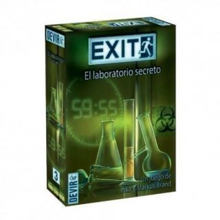 EXIT - 3.- EL LABORATORIO SECRETO