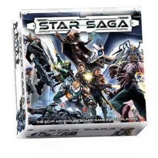 Star Saga: The Eiras Contract Core Set (Inglés)